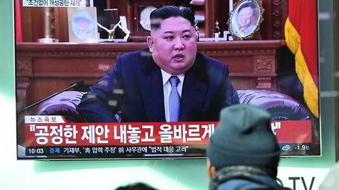 Nord-Koreas siste rakettoppskyting var en advarsel til USA og Sør-Korea, ifølge leder Kim Jong Un.