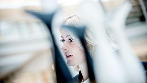Det ble bråk da det ble kjent at Norges rikeste kvinne, Ferd-arvingen Katharina G. Andresen (23), var ansatt i en seksmåneders deltidsstilling i HR-avdelingen i Innovasjon Norge. Foto: Gorm K. Gaare