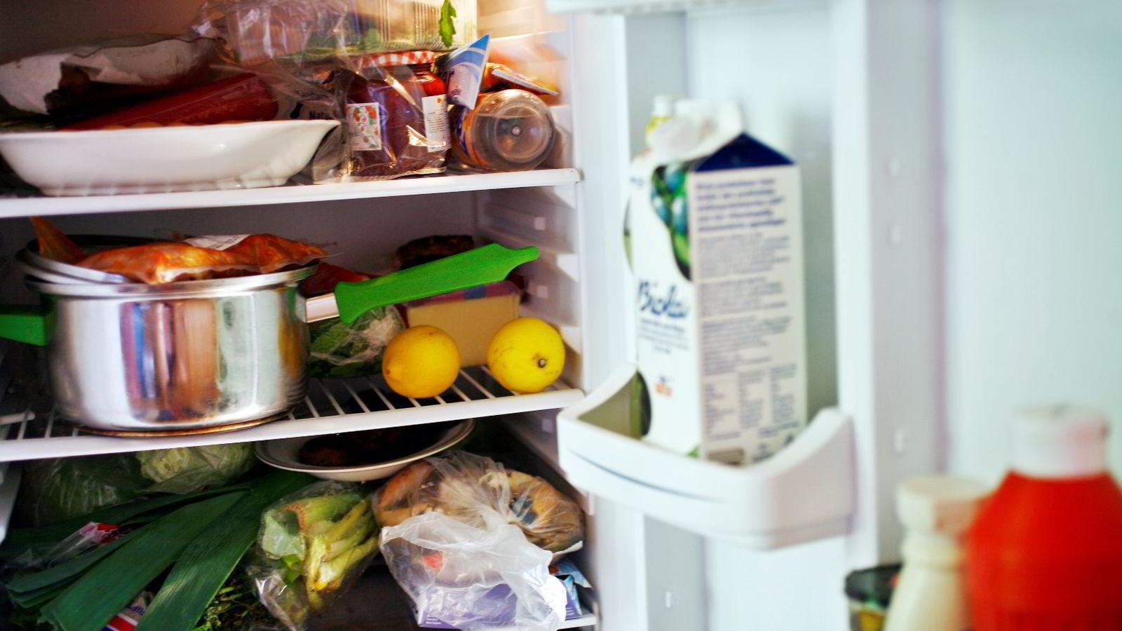 Levering av mat helt hjem i kjøleskapet kan bli en realitet om Telenor og Kolonial.no lykkes med sitt testprosjekt. Foto: Sara Johannessen /