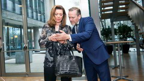 Den danske utenriksministeren Anders Samuelsen var i Oslo tirsdag for å snakke med NHO-sjef Kristin Skogen Lund og en flokk bekymrede næringslivsledere om brexit og om Trumps toll.