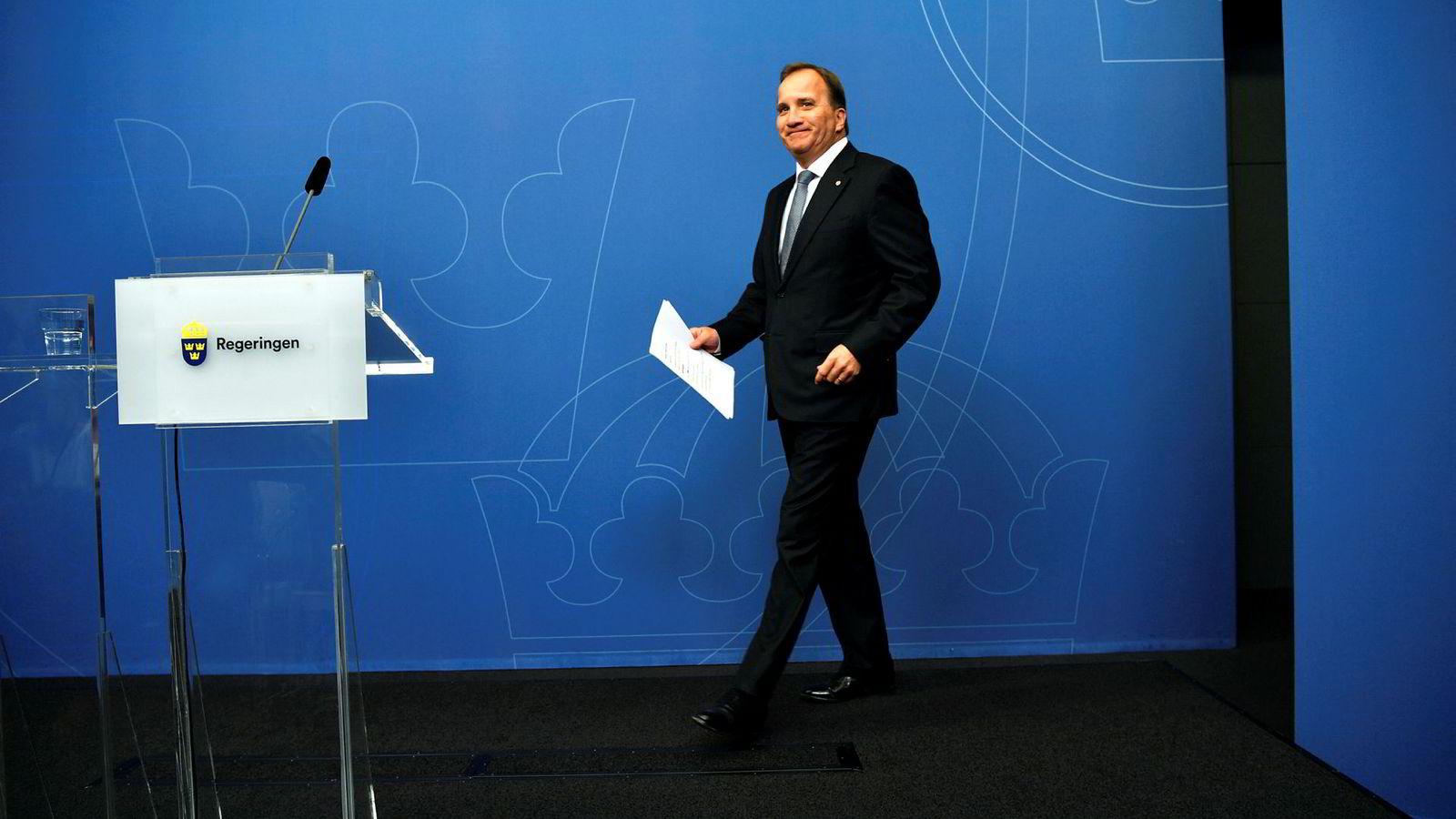 Stefan Löfven har ingen planer om å gå av som statsminister.