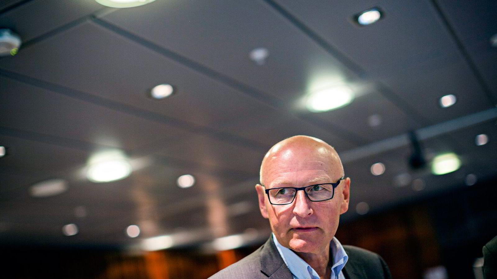 Didrik Munch, konsernsjef i Schibsted Norge, tror ikke VG vil komme tilbake på fjorårets annonsenivå.