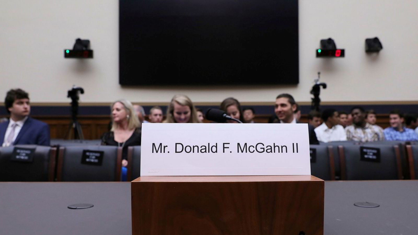 Donald McGahn, tidligere advokat i Det hvite hus, trosset Kongressen og møtte ikke opp i tirsdagens høring.