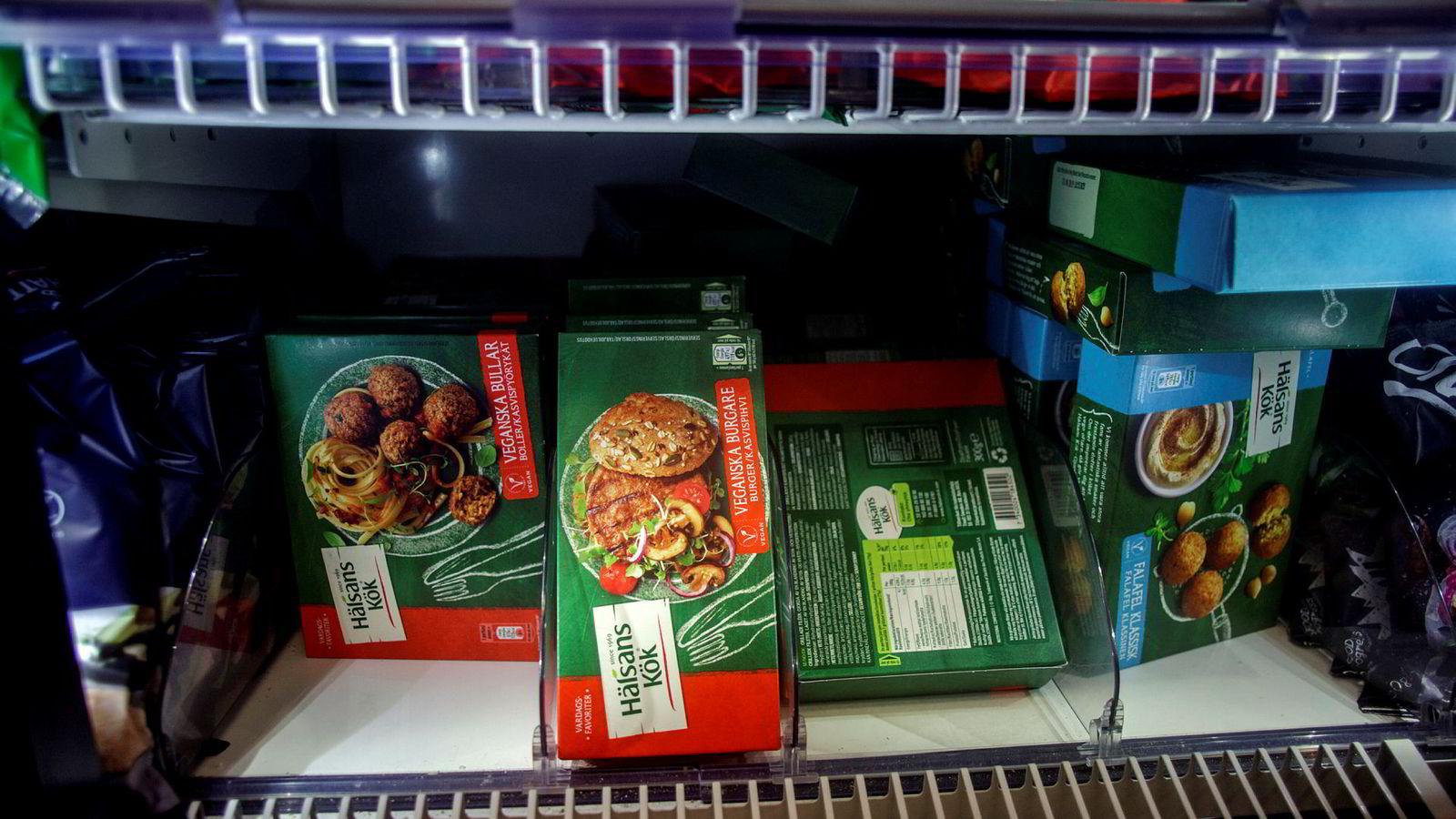 Det kommer stadig flere vegetarprodukter i hyllene i norske matvarebutikker.