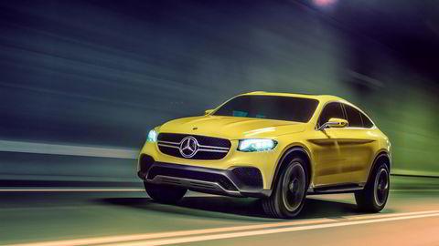 Mercedes-Benz Concept GLC Coupé. Foto: Mercedes-Benz
