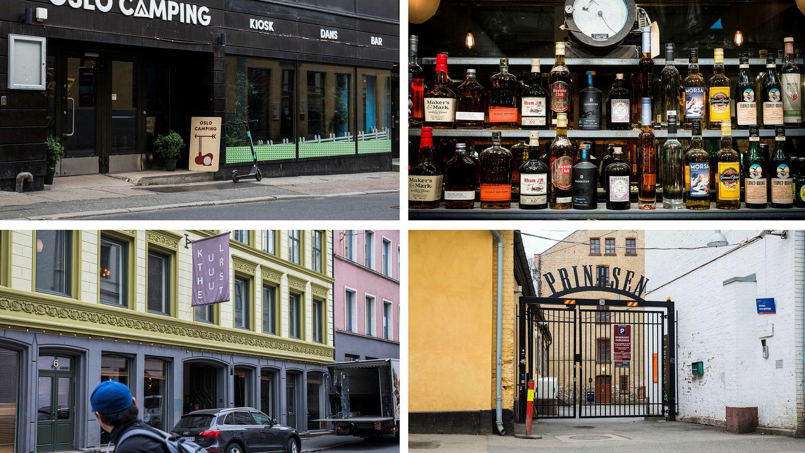 Oslo Camping, Brygg bar og restaurant, Kulturhuset og Prindsens Hage, er blant restaurantkonseptene som nå får finske Noho Partners inn på eiersiden.