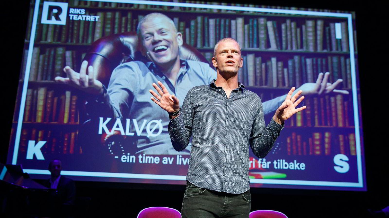 Komiker Are Kalvøs aksjeselskap Mellom Linjene hadde en omsetning på 3.5 millioner kroner i 2015. Foto: Heiko Junge/