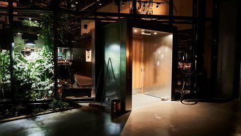 Credo er en av cirka 20 restauranter i Trondheim hvor kontrolletatene har vært på tilsyn i desember. Her fra inngangen til restauranten.