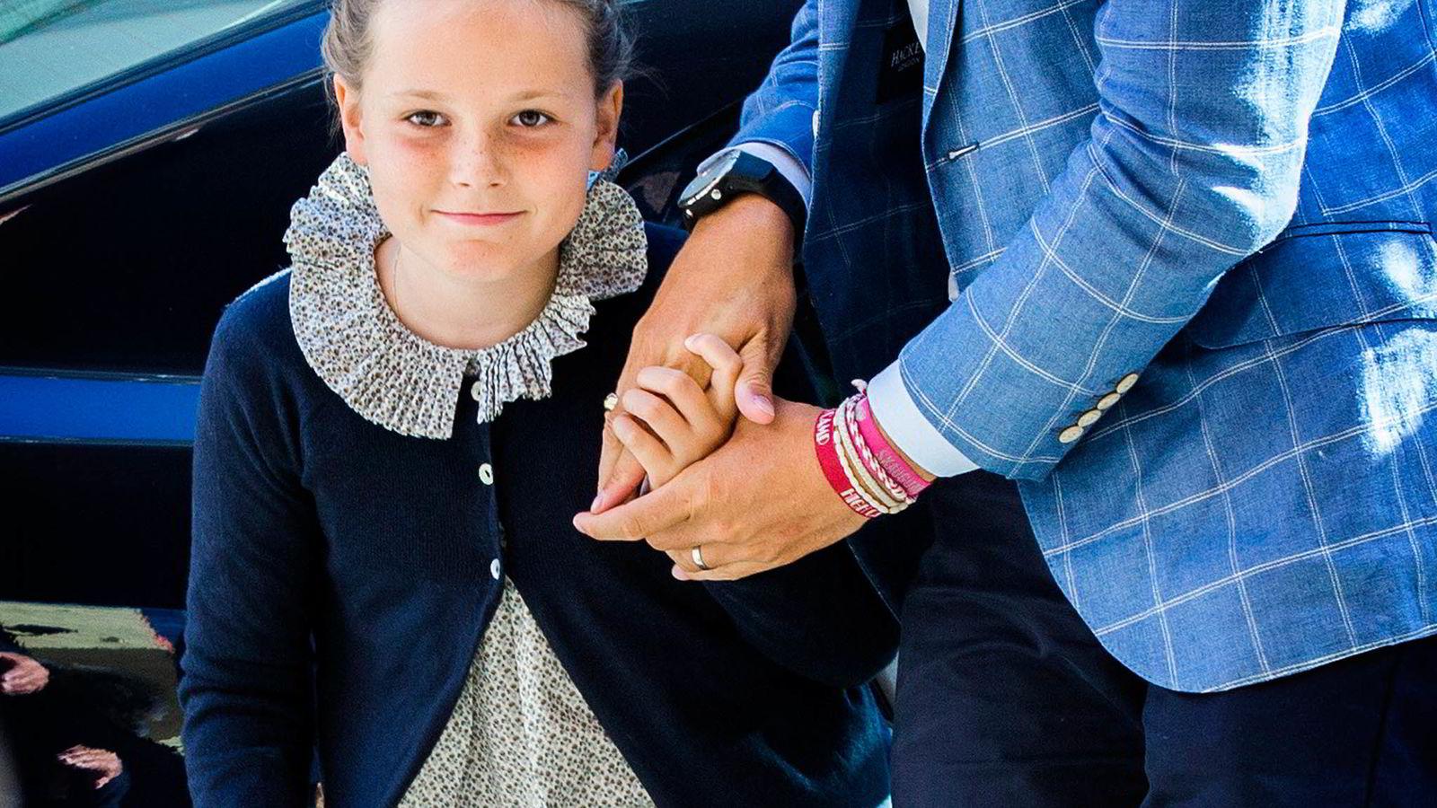 TUNG BØR. Arveprinsesse Ingrid Alexandra vokser opp med en fremtid bestemt av Grunnloven. Foto: Berit Roald,