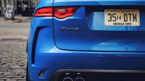 . Jaguar F-Pace SVR.
