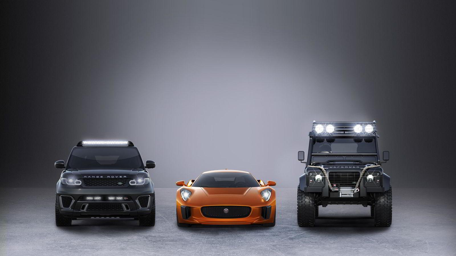 Disse tre bilene blir å se i den kommende James Bond-filmen