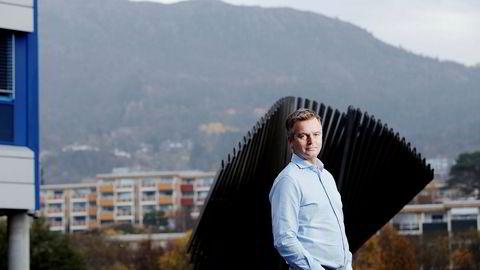 Vi tar det på høyeste alvor når Finanstilsynet finner denne typen mangler, sier daglig lederMagnar Øyhovden i Skandiabanken. Foto: Paul S. Amundsen