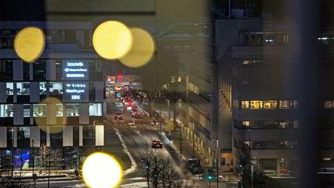 Tidals kontor i Lakkegata i Oslo. 100 av omtrent 150 ansatte jobber i Norge. Siden i fjor høst har Økokrim etterforsket manipulasjon av Tidals lyttertall som databedrageri.
