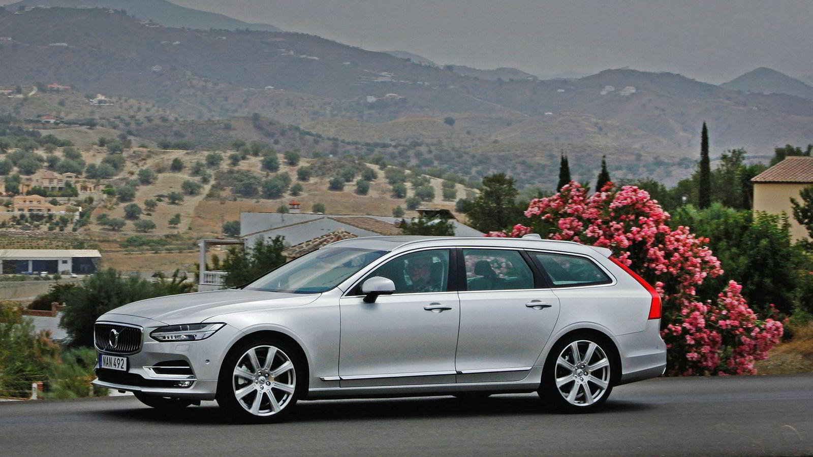 Volvo V90 som ladbar hybrid fremstår som et godt nybilkjøp i DNs oversikt.