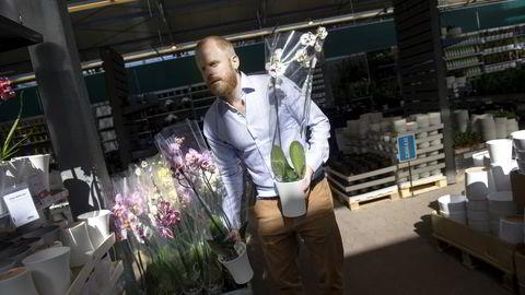Det blir ingen børsnotering på Plantasjens konsernsjef Jon Abrahamson Ring. Nå får kjeden i stedet svenske eiere. Foto: Elin Høyland