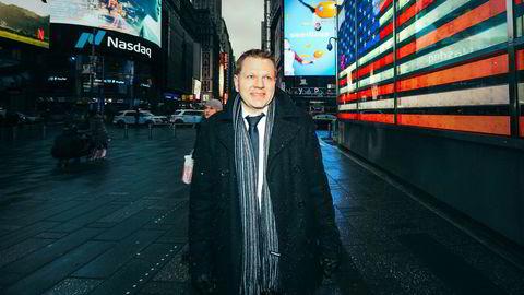 – Jeg kan nesten ikke huske å ha sett en så stor nedjustering på så kort tid, sier sjefstrateg Leif-Rune Rein i Nordea om det kraftige fallet i de globale inntjeningsestimatene.