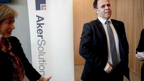 Luis Araujo, sjef i i Aker Solutions.