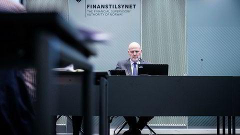 Finanstilsynsdirektør Morten Baltzersen legger onsdag frem finansielt utsyn for 2017.