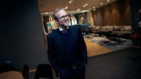 Sjeføkonom Kyrre Knudsen skjønner ikke logikken i Statoils utbyttepolitikk.  Foto: Thomas Alf Larsen