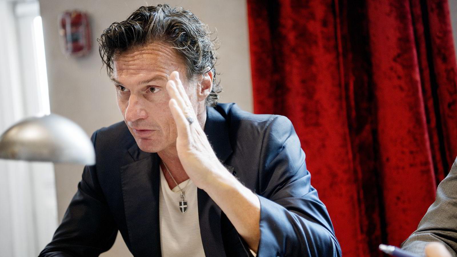 I sin selvbiografi «Jeg skal fortelle deg min hemmelighet» lovte Petter Stordalen (53) ut én million kroner til den gründeren som pitchet den beste ideen. Foto Mikaela Berg