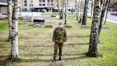 Tor Rune Raabye generalinspektør for Heimevernet (HV). Gjennom yrkeslivet har han ståtti og lært av flere kriser. Nå holder han foredrag om krisehåndtering for ledere. Foto: