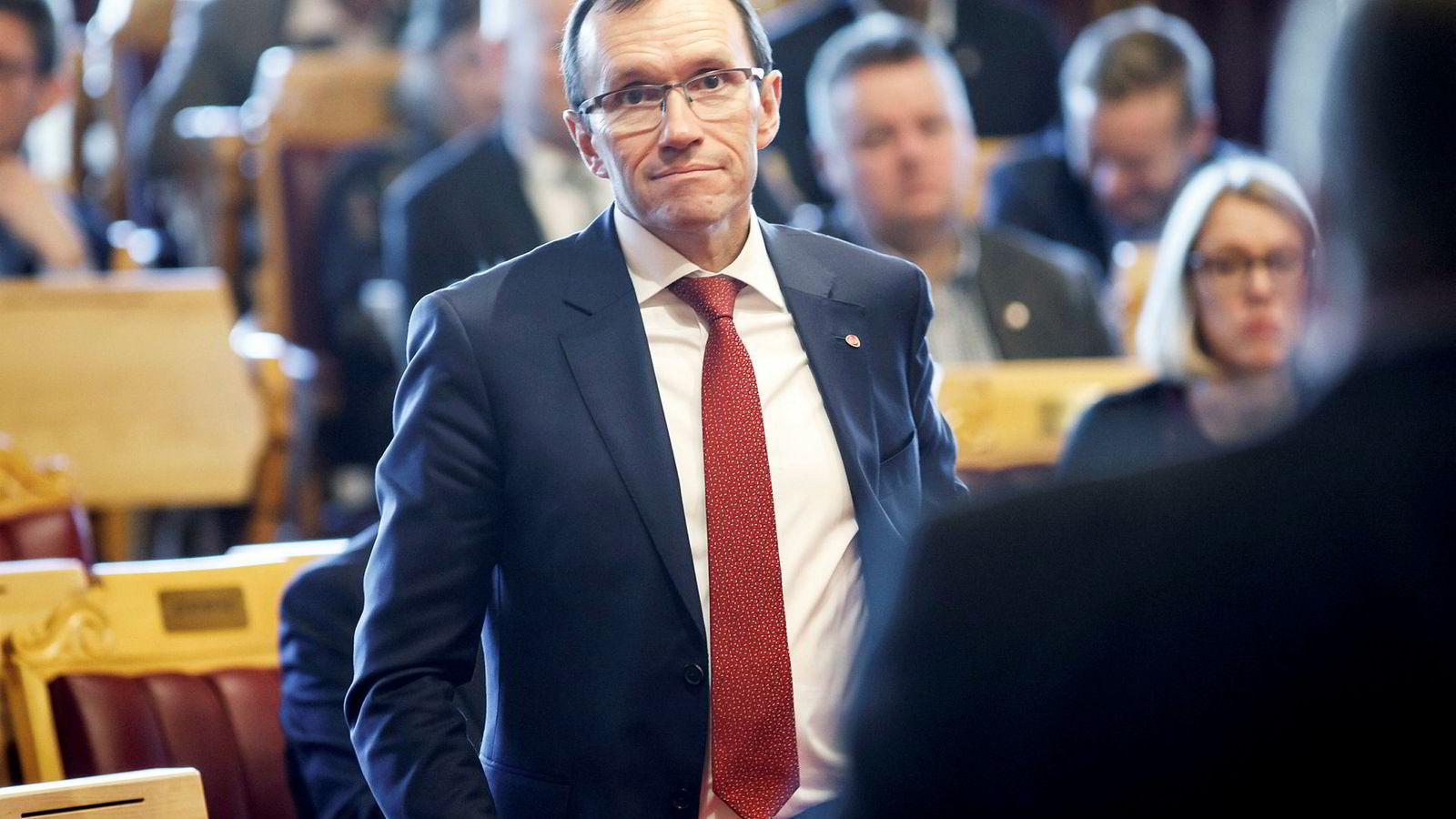 Aps klimapolitiske talsperson Espen Barth Eide forsikrer at Ap skal bli et klimaparti i 2021.