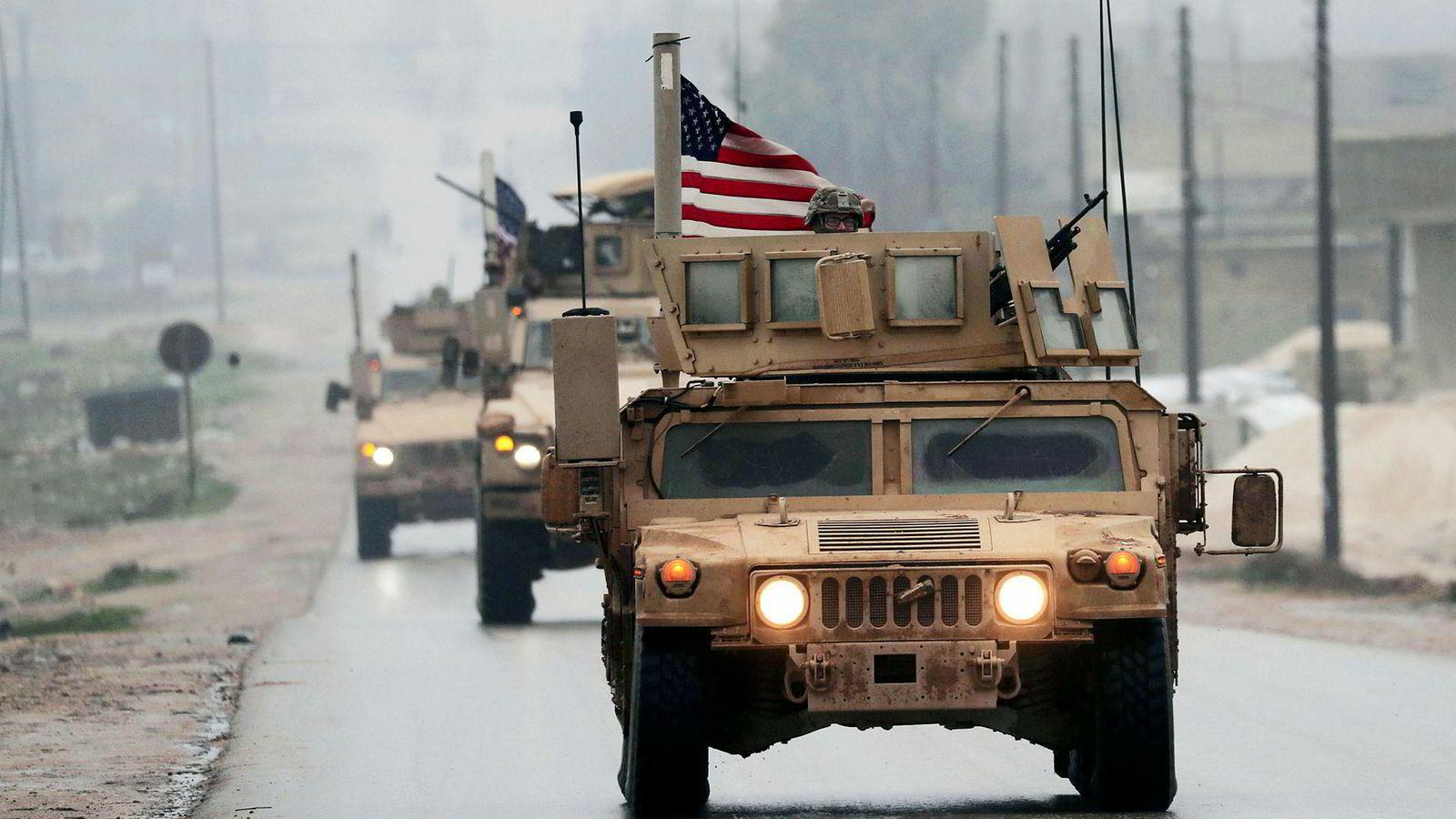 Trekkes amerikanske soldater ut av Syria, kan den åtte år lange borgerkrigen bli forlenget.