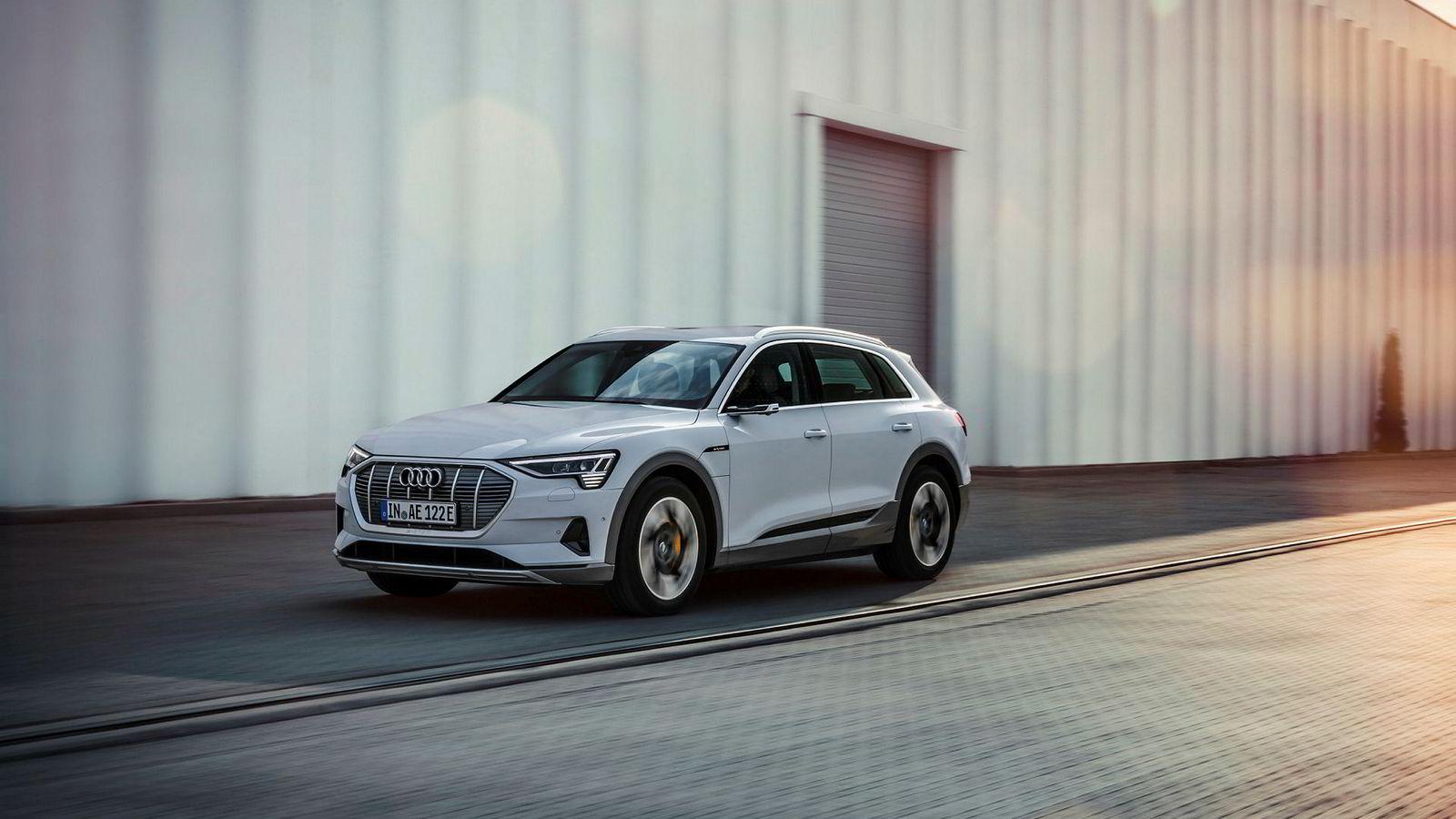 En rimeligere utgave av populære Audi e-tron kommer på norske veier i fjerde kvartal i år.