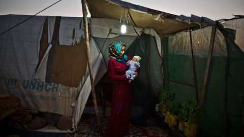 Seniorrådgiver Pål Fosse i Flyktninghjelpen mener situasjonen for syriske flyktninger som har ventet i nærområdene, som her i Jordan, er blitt alvorlig forverret. Foto: Muhammed Muheisen, AP/NTB Scanpix