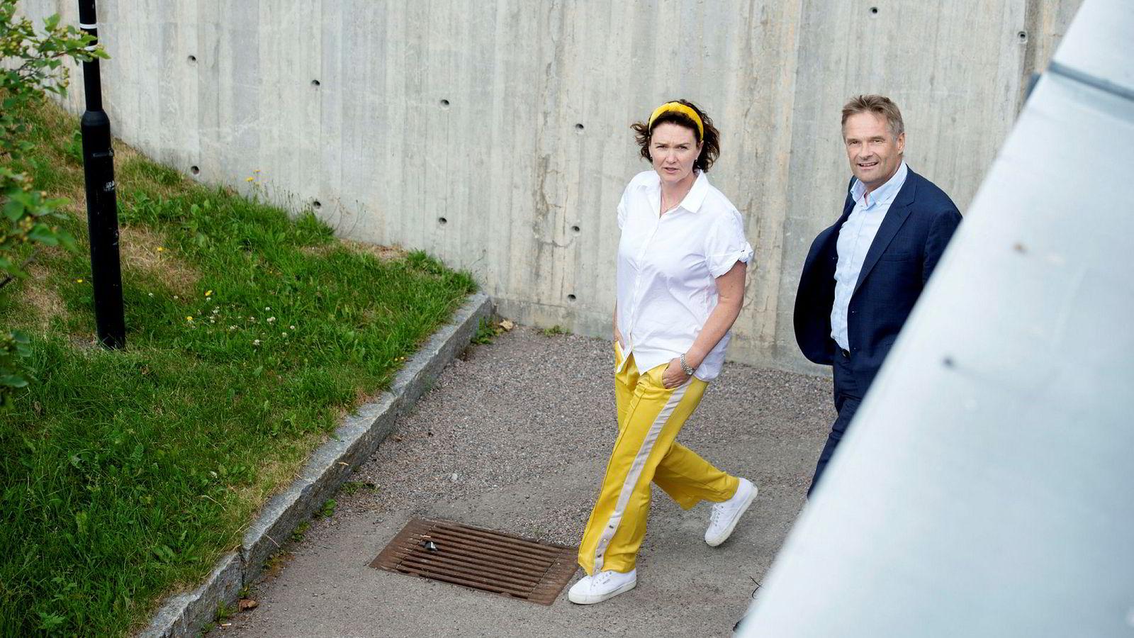 – Av syv mellomledere som direkte rapporterer til meg er fem kvinner, sier Kjersti Jamne, leder for privatmarkedet i Telia. Selv rapporterer hun til administrerende direktør Abraham Foss.