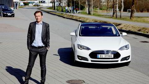 Investeringsdirektør – og elbilentusiast – Robert Næss i Nordea Investment Management.