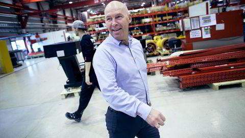 Nedturen er langt fra over, tror industrigründer Inge Brigt Aarbakke. Han venter mer motgang for oljeserviceindustrien fremover. Foto: Tomas Larsen
