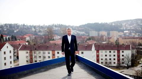 GLAPP. Lindorff-sjef Endre Rangnes skulle egentlig på børs med inkassoselskapet, men Nordic Capital tar over selskapet for minst 17,5 milliarder kroner. Foto: Øyvind Elvsborg