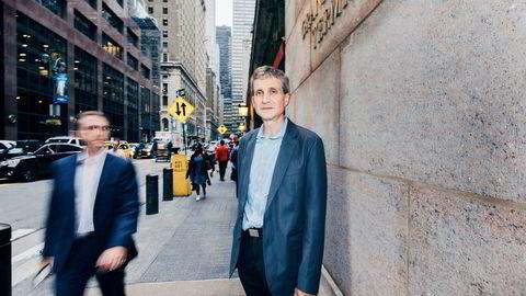 Nikolai Nachamkin er leder for risikovurdering hos DNB i New York. Norskamerikaneren har jobbet i 22 år på Manhattan for DNB, og sier nordiske banker fikk en styrket posisjon etter krisen i 2008.