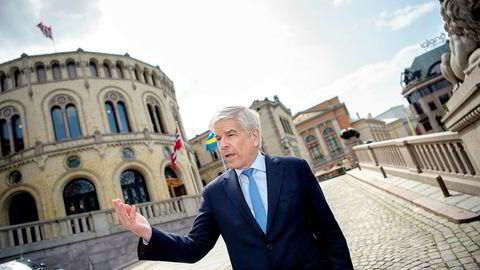 Paul Romer - nobelprisvinner i økonomi er i Oslo.