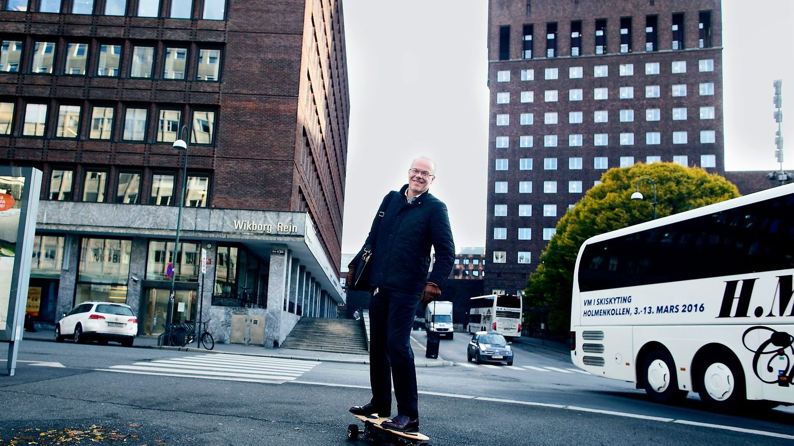 Google-sjef Jan Grønbech leder et selskap med voldsom vekst i Norge. Foto: Fredrik Solstad