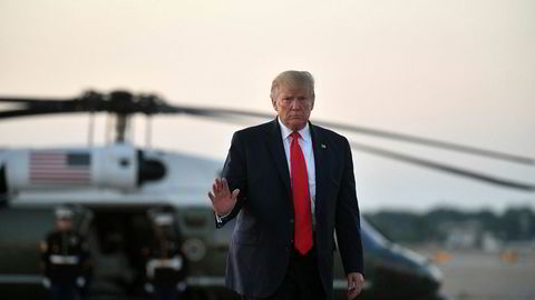 Penger: USAs president Donald Trump vil bruke midler fra Pentagon for å bygge grensemuren.