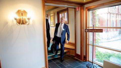 Tor Olav Trøim er på Pareto-konferansen for å presentere sitt riggselskap Borr Drilling og rederiet Golar LNG