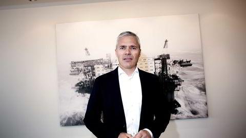 EN MILLIARD BEDRE for administrerende direktør Dag Rasmussen i Rasmussengruppen i Kristiansand. Foto: