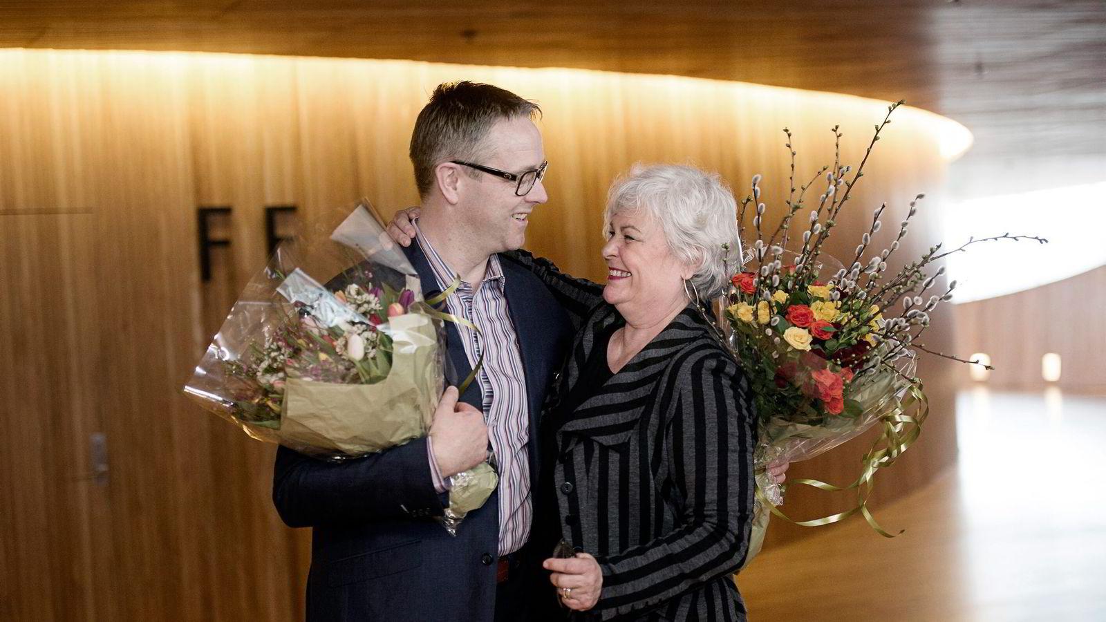 TALLKNEKKER. Styreleder Ellen Horn omtaler Nils Are Karstad Lysø (45), ny administrerende direktør i Den Norske Opera og Ballett, som en ivrig musikant og tallknekker i verdensklasse.