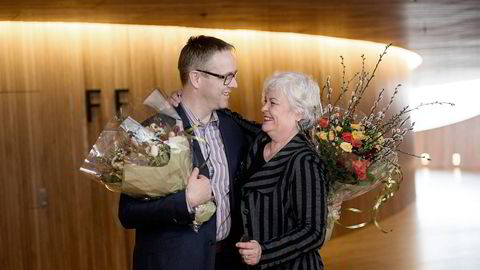 TALLKNEKKER. Styreleder Ellen Horn omtaler Nils Are Karstad Lysø (45), ny administrerende direktør i Den Norske Opera og Ballett, som en ivrig musikant og tallknekker i verdensklasse. Foto: Elin Høyland