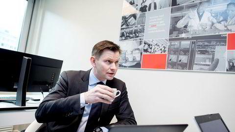 Haakon H. Jensen, administrerende direktør i Investinor, mener fondet har en viktig rolle i det norske markedet. Ifølge Investinor har de stått for over en tredjedel av venturekapitalen i Norge siden 2010. Foto: Øyvind Elvsborg