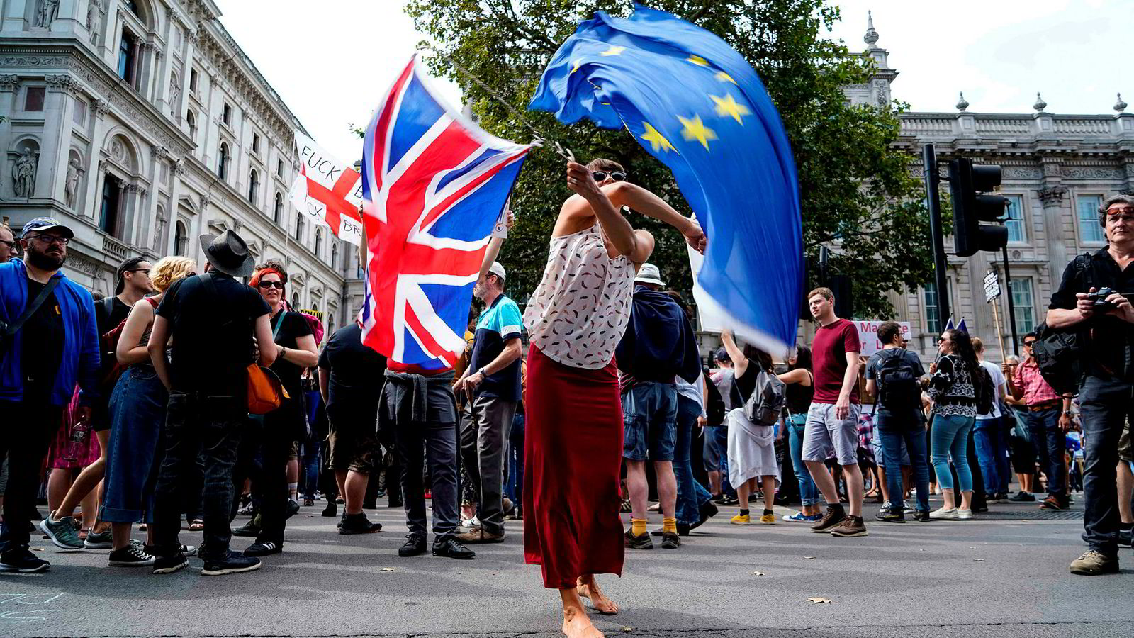 Brexit-motstanderne mener de nå har folket på sin side. Meningsmålerne gir dem rett.