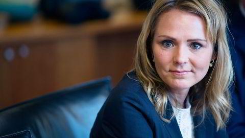 Kulturminister Linda Hofstad Helleland. Foto: