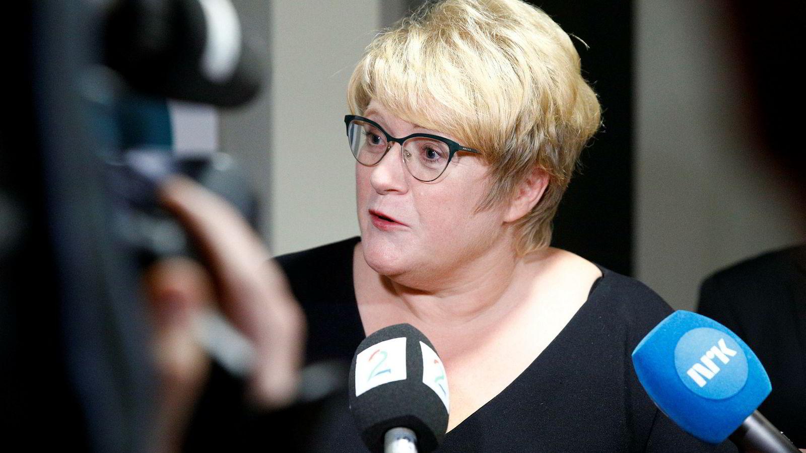 Venstres leder Trine Skei Grande.