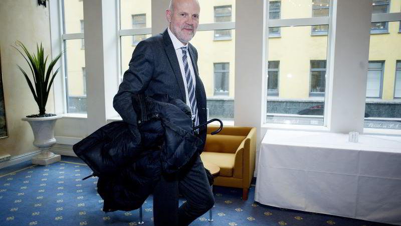 Direktør Morten Baltzersen i Finanstilsynet. FOTO: Mikaela Berg