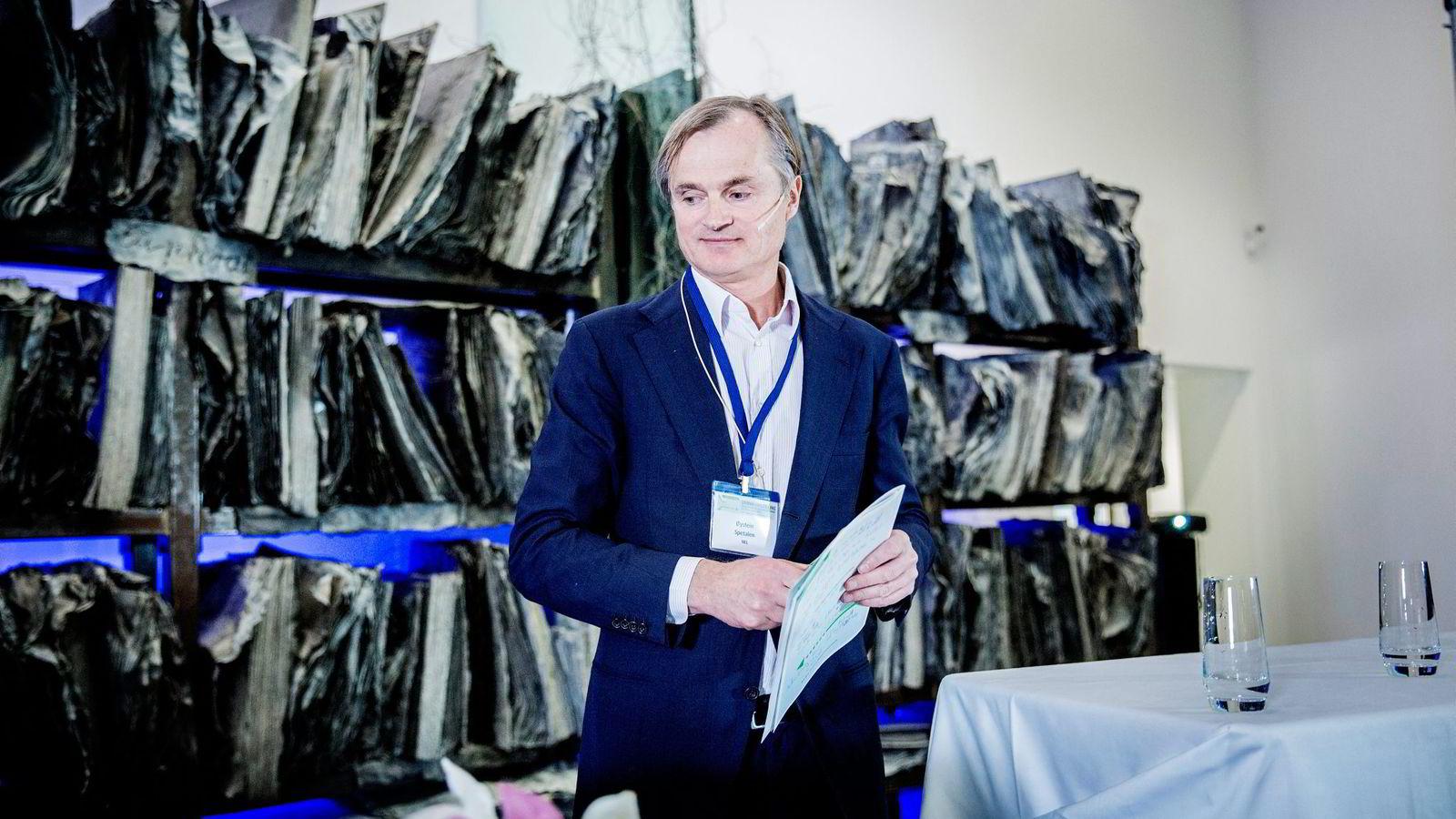 Investor Øystein Stray Spetalen nekter myndighetene tilgang til 820 eposter han mener er advokatkorrespondanse. Foto: Fredrik Bjerknes