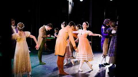 DYRE SOM PENSJONISTER. Trude Skogen Støvind under sceneprøve på «Onegin» i Den norske opera. Alle foto: Skjalg Bøhmer Vold