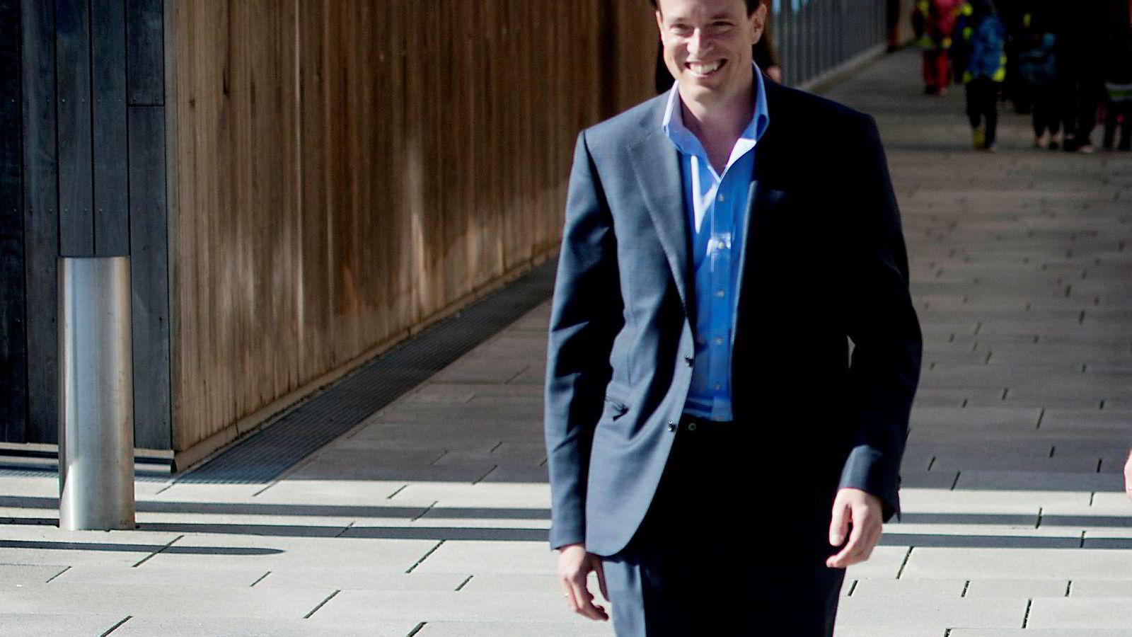 Investor og medgründer av investeringsselskapet Ubon Partners, Fredrik Halvorsen, kjøper seg opp i Hunter.