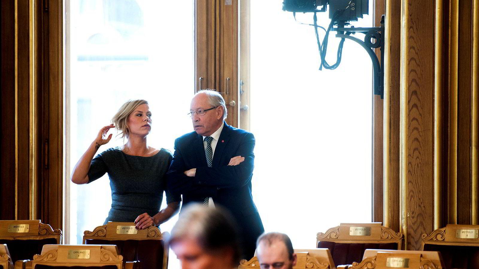 Hverken Jette Christensen eller Martin Kolberg fikk sine ønsker om stortingskomité oppfylt. Christensen er nå plassert i utdannelses- og forskningskomiteen, mens Kolberg er nå plassert i utenriks- og forsvarskomiteen.